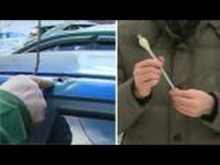 Робин Гуд расстреливает из арбалета легковушки в Москве
