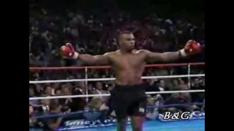 Iron Mike Tyson KO knockout king