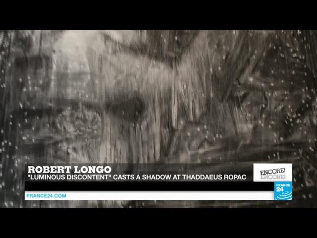 'Luminous Discontent': Robert Longo's monochrome vision