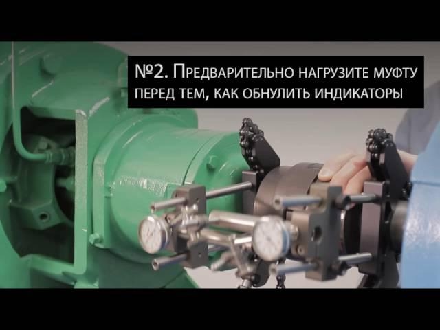 Люфт в муфтовом соединении Центровка валов