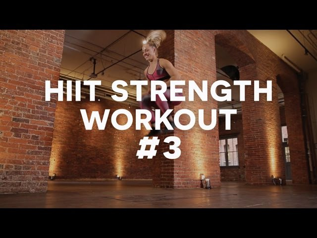 KaisaFit HIIT Workout with Jumping Plyometric Exercises