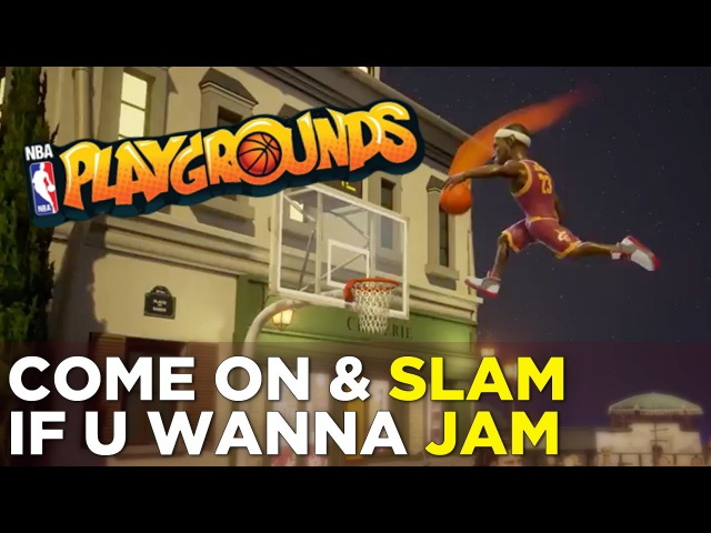 NBA Playgrounds — Dunks, Alley-oops, and Trading Cards