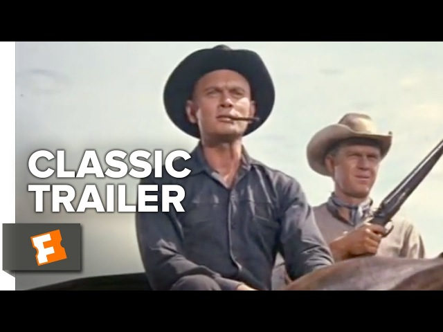 The Magnificent Seven Official Trailer 1 - Charles Bronson Movie (1960) HD