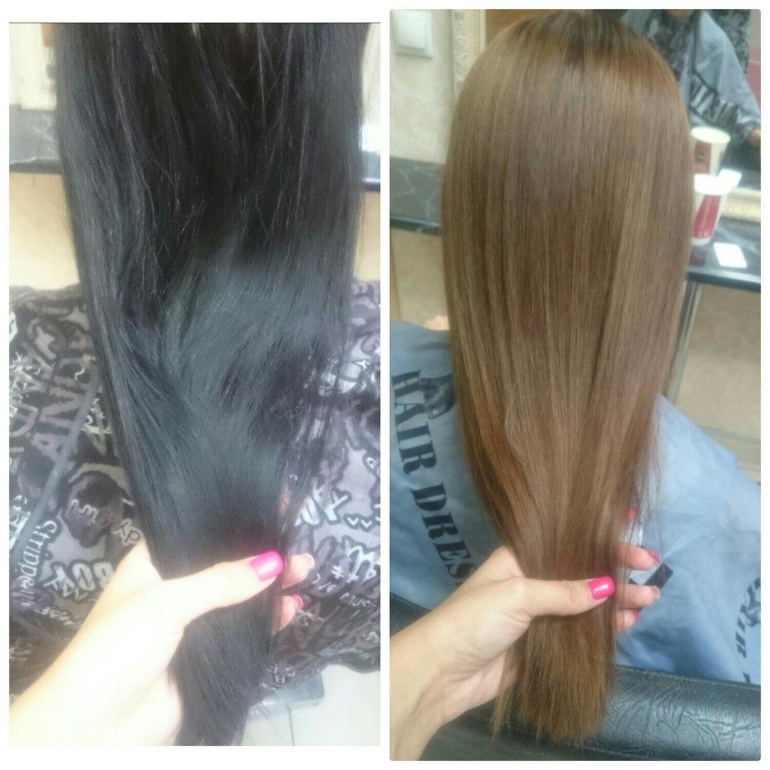 Смывка для волос из кефира и порошка