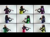 Mortal Kombat | Anastasia Soina | Музыка из игры на скрипке