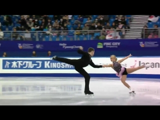 Four Continents Championships 2017. Pairs - SP. Kirsten MOORE-TOWERS / Michael MARINARO