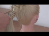 Mini Bubble Cage Braid Pony Hairstyle - Hai11r Tutorial - HairGlamour