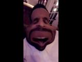 Matte Babel on Shay Mitchell's Snapchat (25 декабря 2016)