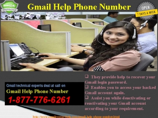 A blend of Promptness, Quality Excellence: Gmail Help Number@1-877-776-6261 Number