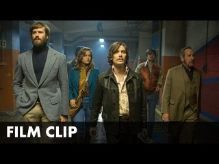 FREE FIRE - 'Testing the Merch' Clip - In cinemas March 31st