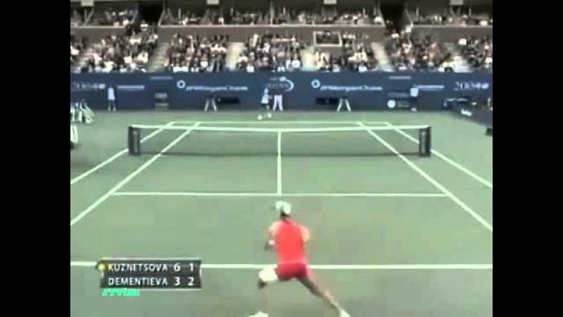 Elena Dementieva vs Svetlana Kuznetsova US Open 2004 Highlights