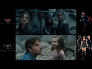 Batman v Superman and Man of Steel: Metropolis Scene comparisons (HD).