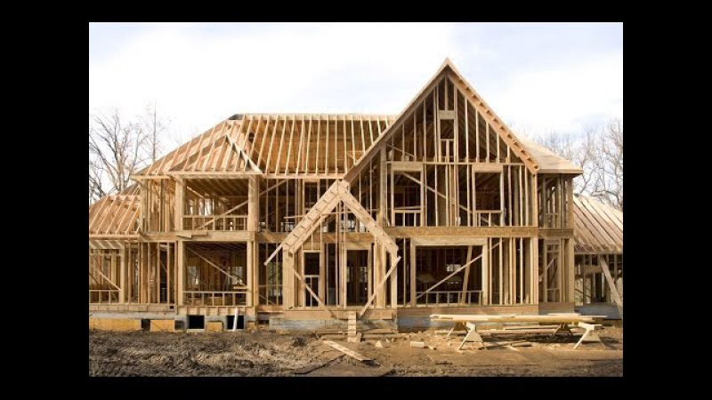 World Amazing Modern 24 Hours House Build Time Lapse. House Built in One Day Timelapse Construction