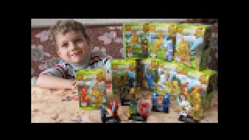 Обзор коллекции конструктора аналога Лего Ниндзя Го ninja constructor