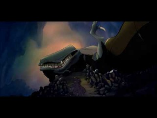 The Land Before Time Cera and The Sharptooth