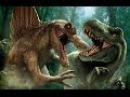Битва динозавров Первокласная броня против агресивнейшей атаки монстры диноз ...