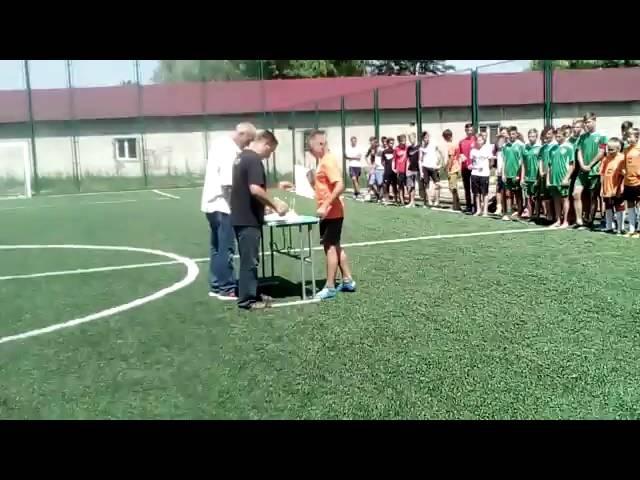 Нагородження Шкіряного мяча у місті Броди ФК Іква накваша молодіжка