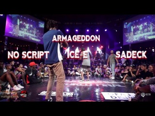 Noscrip VS Sadeck VS Icee | step 2 pool 1 extra round | Fusion concept 2016