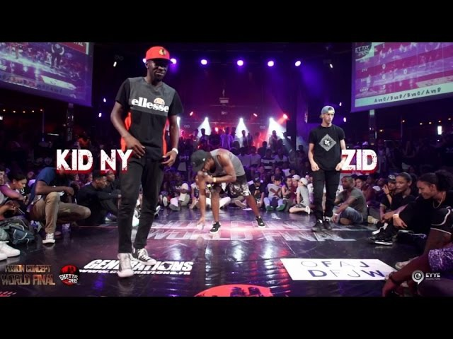 Zid VS Kid ny | step 2 Pool 2 | Fusion concept 2016