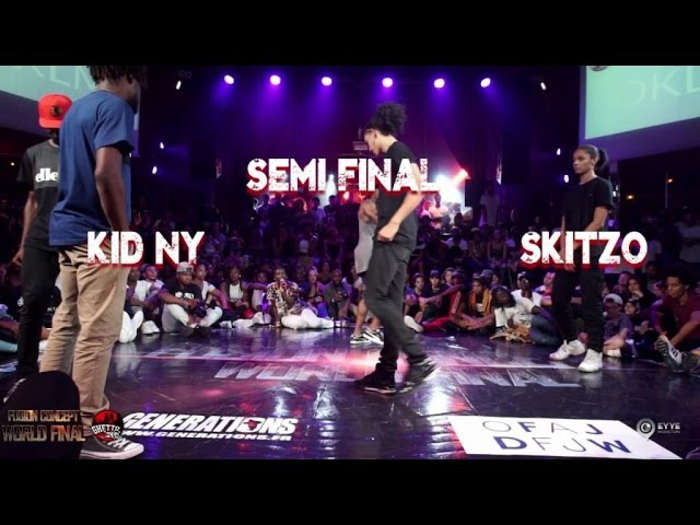 Skitzo VS kid NY |step 3 semi final Last 8 | Fusion concept 2016