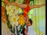 Gymnastic dance duo girl/Dama de baile de gimnasia/体操ダンスデュオガール