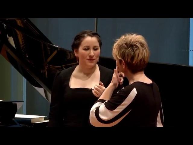 """Joyce DiDonato Master Class 2015: Mozart's """"Mi tradi quell'alma ingrata"""" from Don Giovanni"""