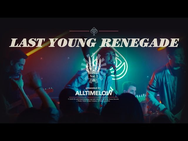 All Time Low Last Young Renegade [OFFICIAL VIDEO]