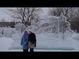Ледяной городок, Новосибирск 2017