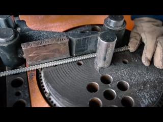 Небольшое обучающее видео по сгибанию арматуры