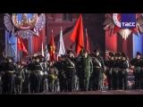 Москва готовится к параду Победы- на Красной площади прошла первая репетиция