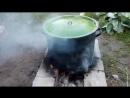 Самодельная коптильня для мяса. Сделана своими руками, горячее домашнее копчение.2