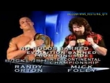 [WWE QTV]☆[Backlash 2004]Hardcore match]Intercontinental Championship]Randy Orton vs Cactus Jack]Рэнди Ортон про Кактуса Джека]