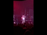 Zara performing AMF at CB tour, LA 05-04-17