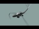 Тест цикла полёта беззубика