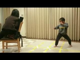 Как тренируется маленький Брюс Ли Невероятный Ryusei Imai 6 летFull HD