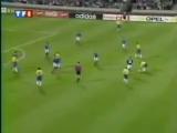 Футбол фантастический гол. Роберто Карлоса. 1996 г.