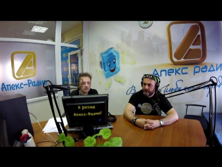 Глеб Самойлов_запись видеотрансляции из студии