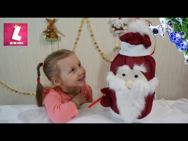 Дед Мороз своими руками из пластиковой бутылки. Игрушка на елку своими руками