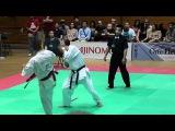 Kyokushin All American 2012  Z.Damyanov VS S.Kamada