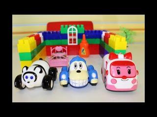 ВРУМИЗ новая серия мультик РОБОКАР ПОЛЛИ Эмбер делает укол много игрушек