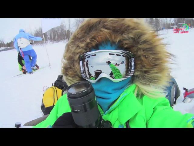 Snowkiting in Kirovsk день 3
