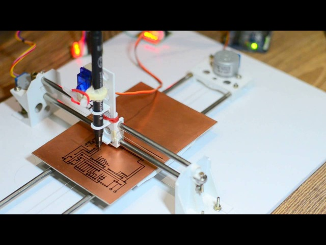 DIY PCB Ink Plotter using Arduino and GRBL CNC