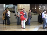 Tango flashmob in Moscow City. Танго флешмоб в Москва Сити. 2017.