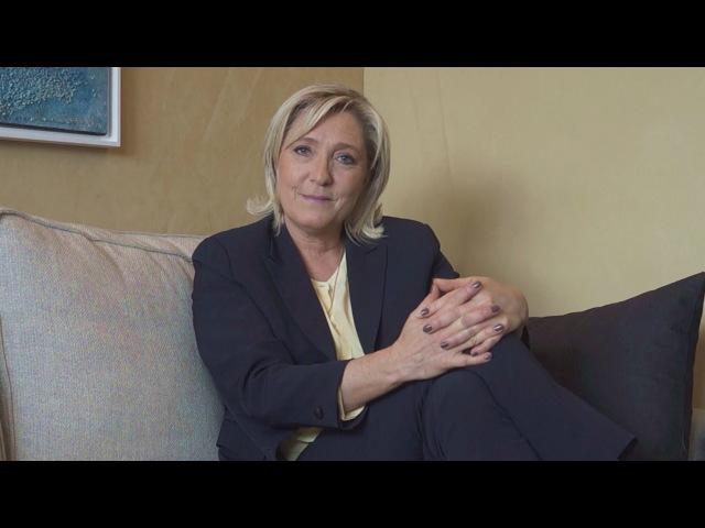 Lappel de Marine Le Pen rejoignez-nous !