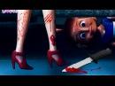 Барби Зомби игры в прятки! Мама Барби и маша (Ужасы)