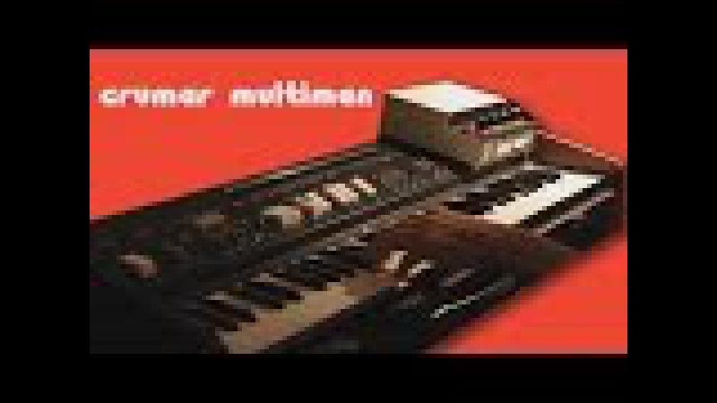 CRUMAR MULTIMAN String Machine 1975 Gerd Schulte Compact Phasing A | HD DEMO