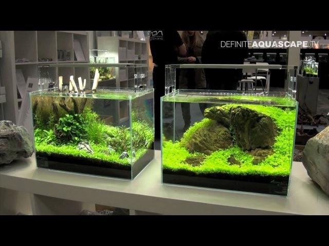 Aquascaping - Planted Aquariums of Aqua Design Amano Deutschland, Heimtiermesse 2013, Hannover