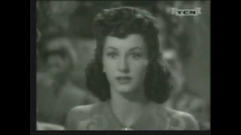 MGM 1942 Virginia O'Brien Did I Get Stinkin'At the Club Savoy
