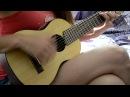 Там Высоко Ария кавер guitarlele