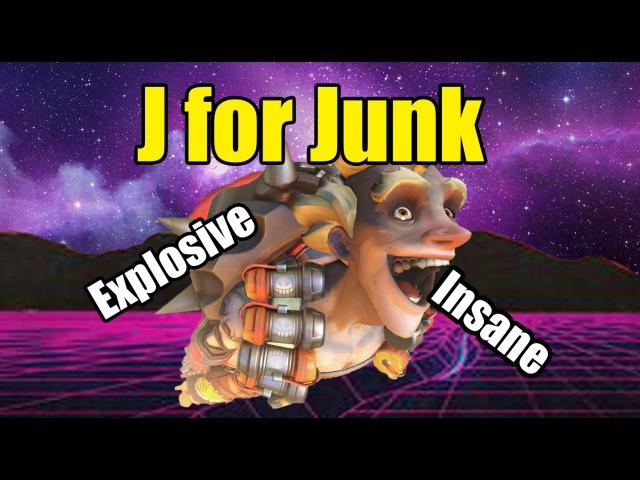J for JunkRat || A (Very Explosive) Junk Rat Video